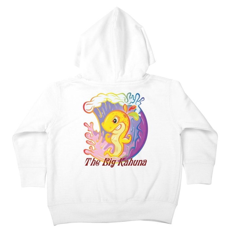 The Big Kahuna Kids Toddler Zip-Up Hoody by Samalou - The Art and Illustrations of Lou Simeone