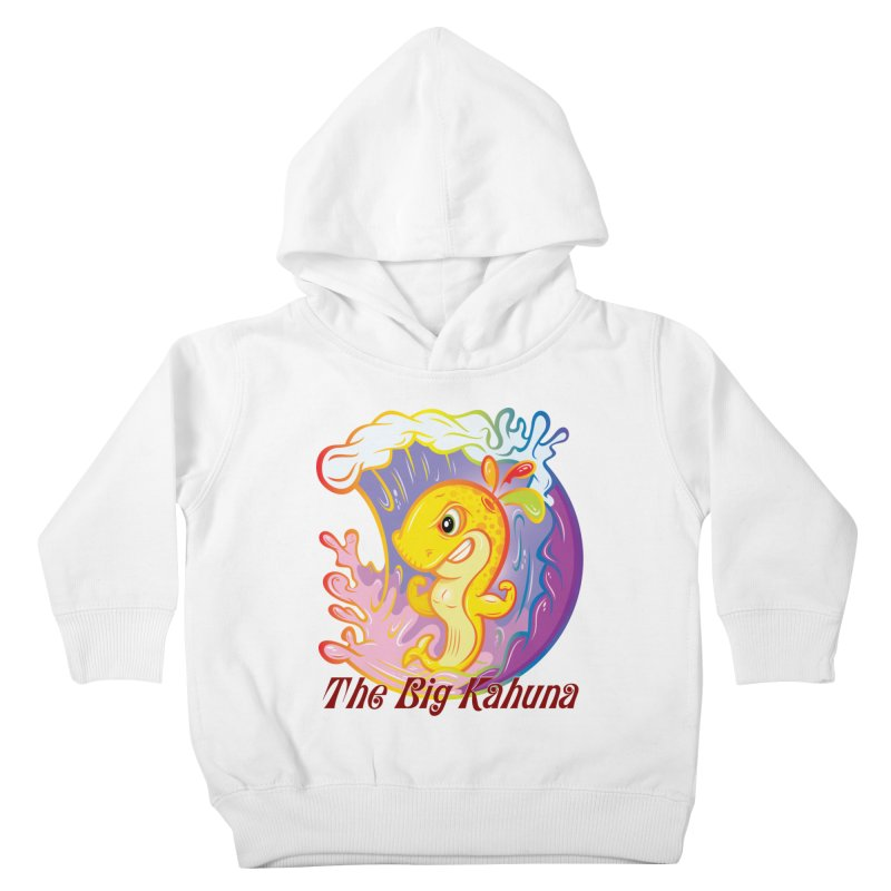 The Big Kahuna Kids Toddler Pullover Hoody by Samalou - The Art and Illustrations of Lou Simeone