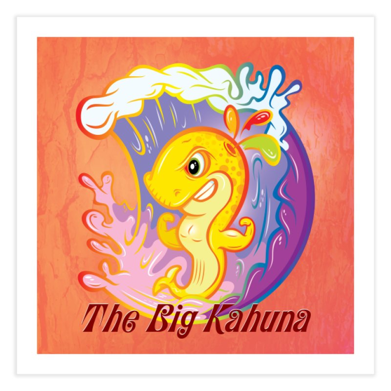 The Big Kahuna Home Fine Art Print by Lou Simeone Art