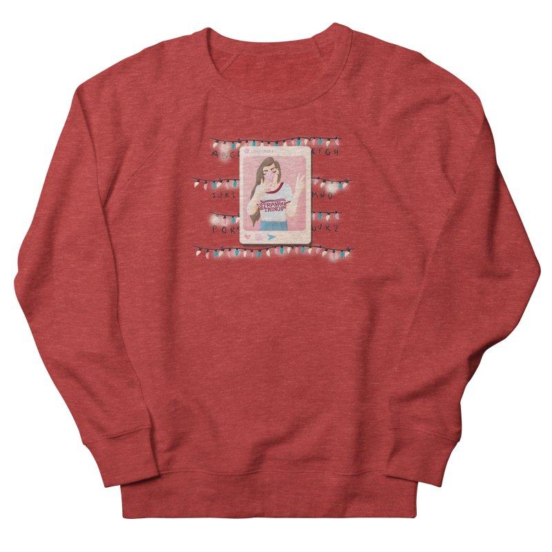 Fan Girl Women's French Terry Sweatshirt by lovablemaria's Artist Shop