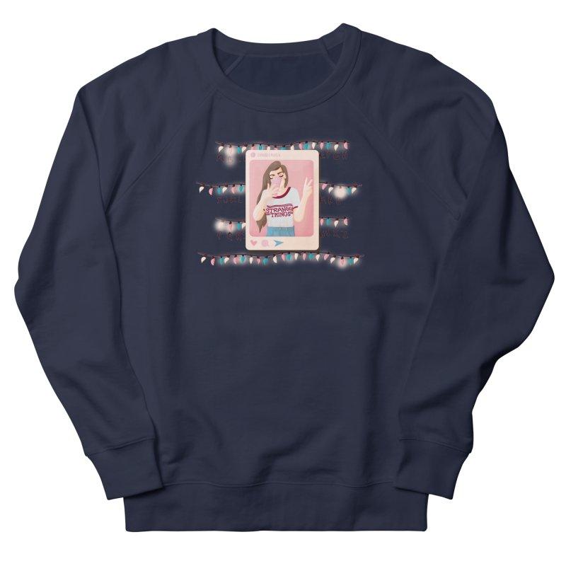Fan Girl Men's French Terry Sweatshirt by lovablemaria's Artist Shop