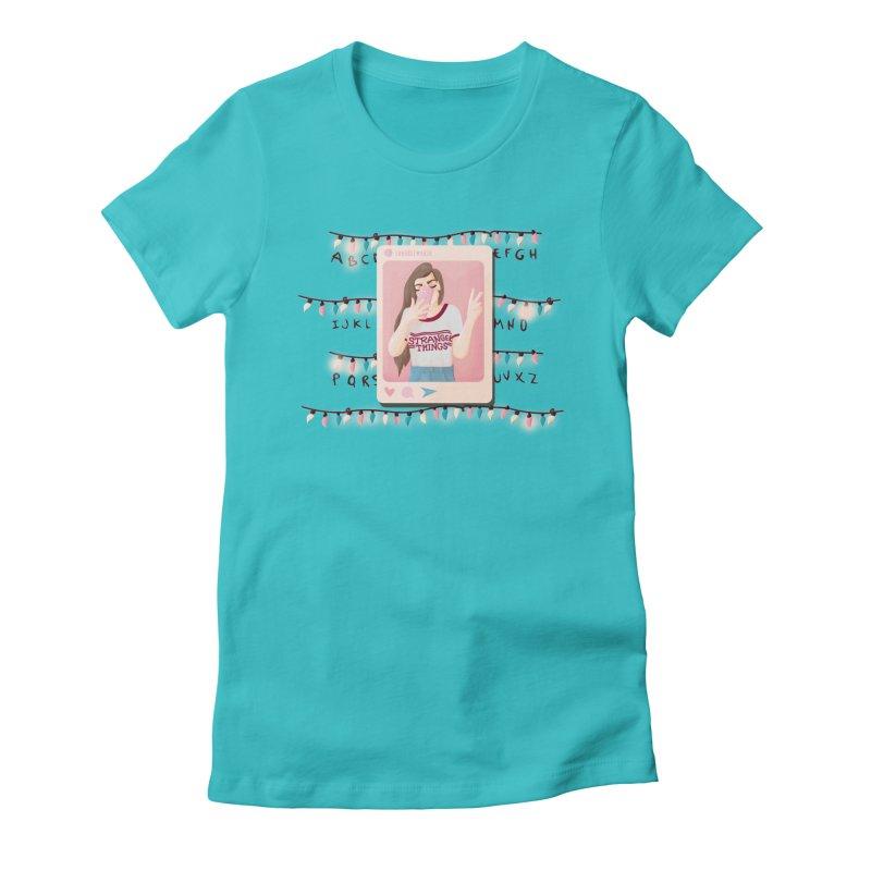 Fan Girl Women's T-Shirt by lovablemaria's Artist Shop