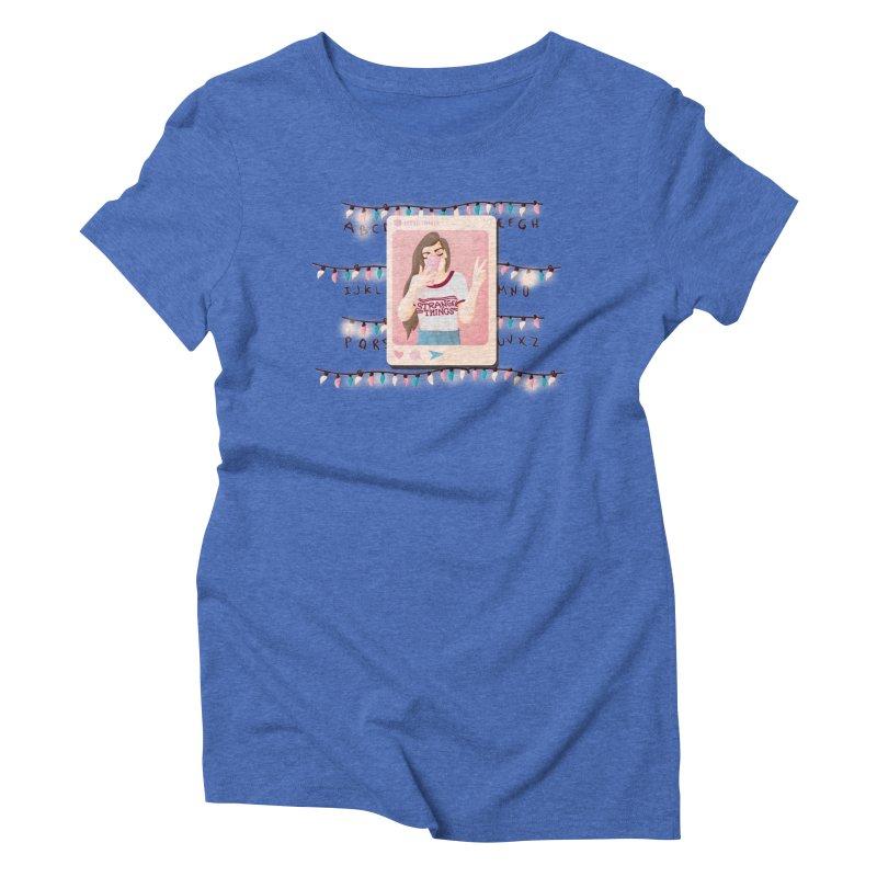 Fan Girl Women's Triblend T-Shirt by lovablemaria's Artist Shop