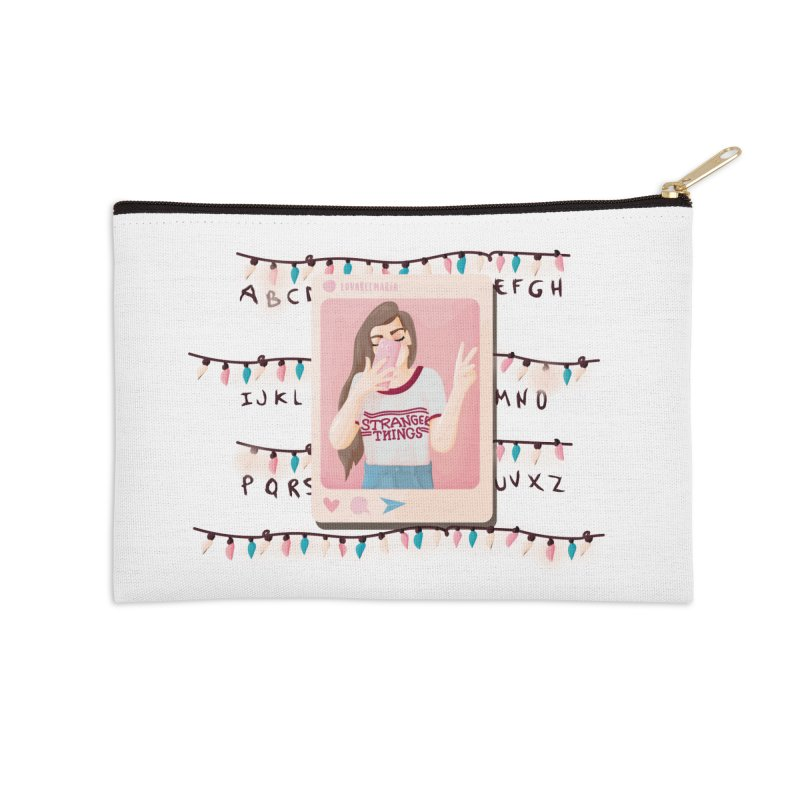 Fan Girl Accessories Zip Pouch by lovablemaria's Artist Shop