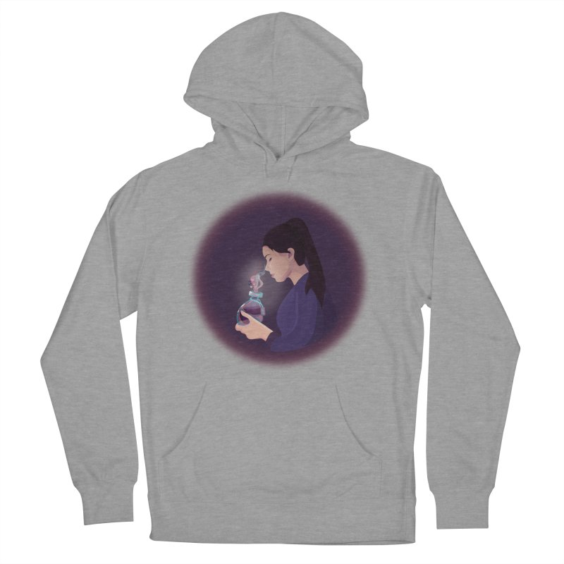Love Potion Men's French Terry Pullover Hoody by lovablemaria's Artist Shop