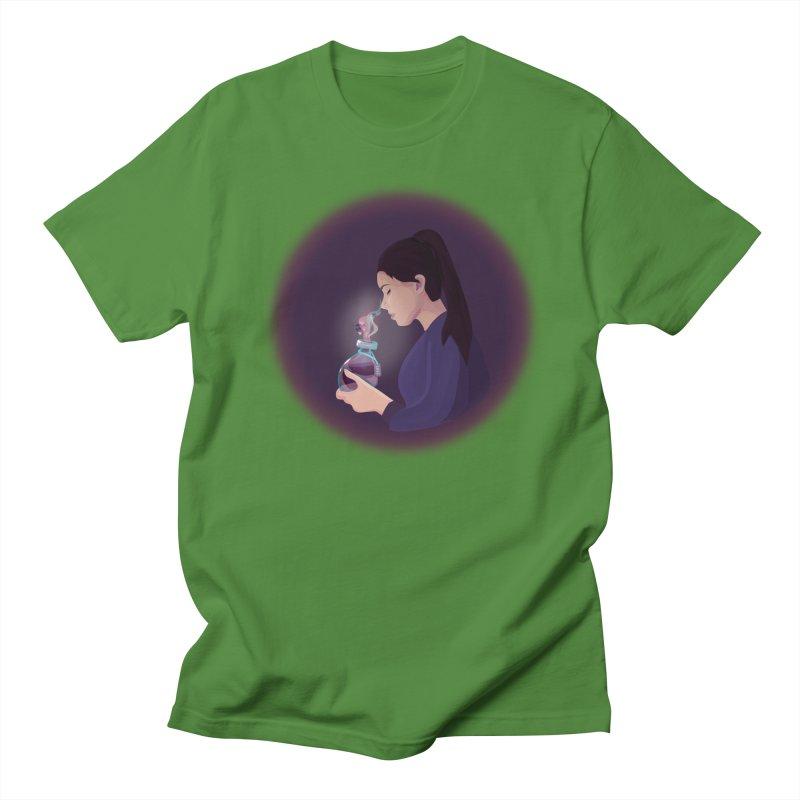 Love Potion Men's Regular T-Shirt by lovablemaria's Artist Shop