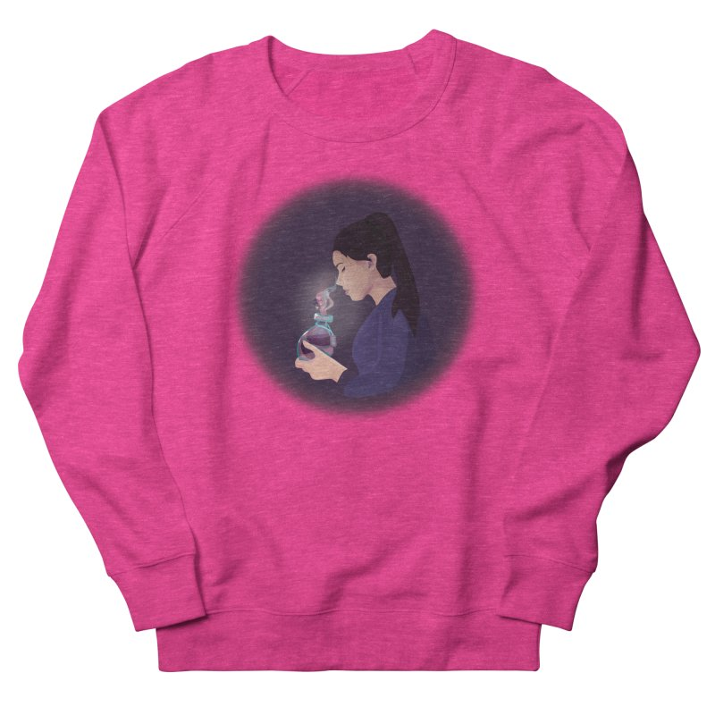Love Potion Women's French Terry Sweatshirt by lovablemaria's Artist Shop