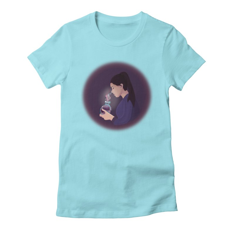 Love Potion Women's T-Shirt by lovablemaria's Artist Shop