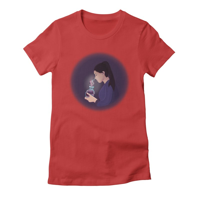 Love Potion Women's Fitted T-Shirt by lovablemaria's Artist Shop