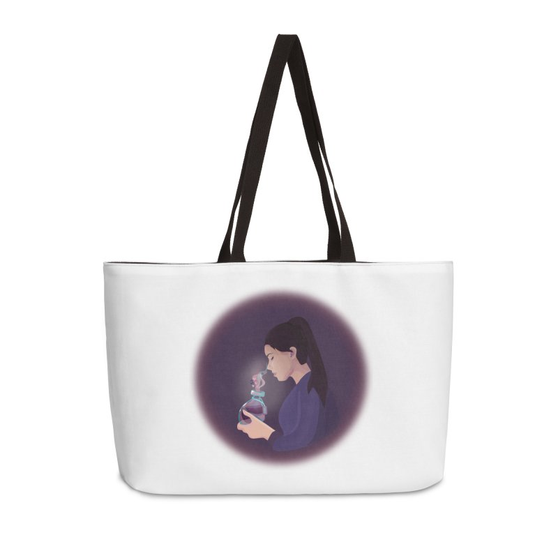 Love Potion Accessories Weekender Bag Bag by lovablemaria's Artist Shop