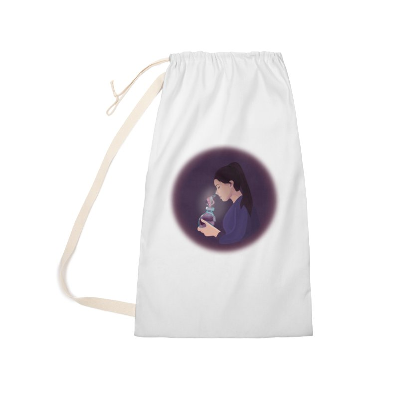 Love Potion Accessories Laundry Bag Bag by lovablemaria's Artist Shop