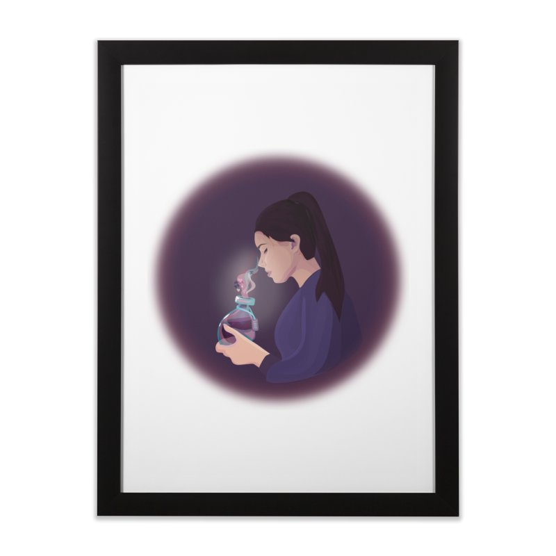 Love Potion Home Framed Fine Art Print by lovablemaria's Artist Shop
