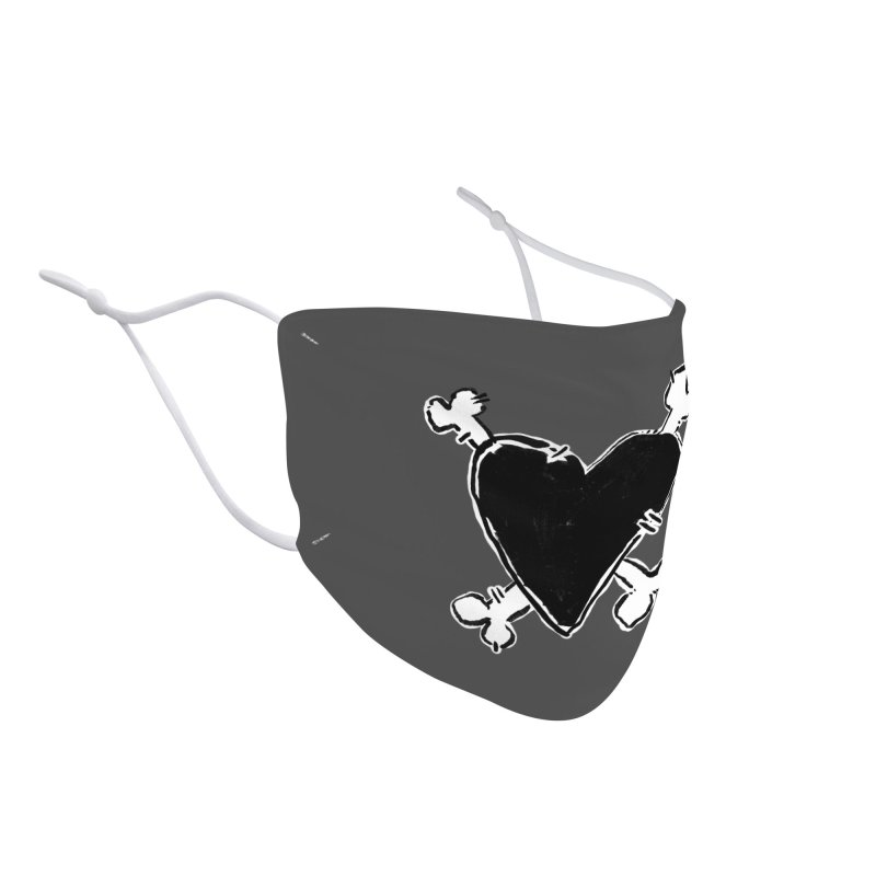 Love and Crossbones. Accessories Face Mask by Punk Rock Girls Like Us