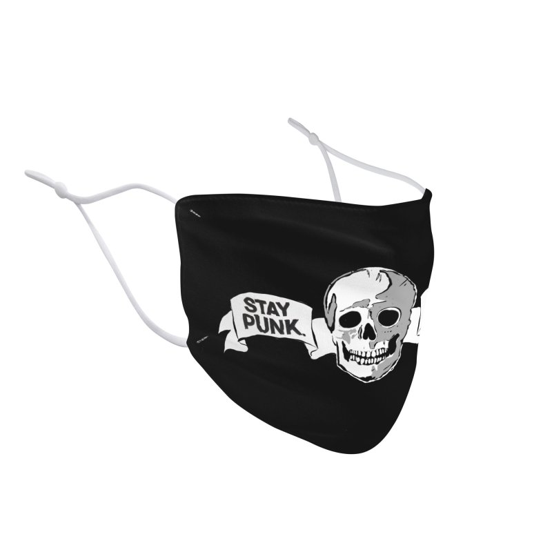 Stay Punk.  Stay Queer. Accessories Face Mask by Punk Rock Girls Like Us