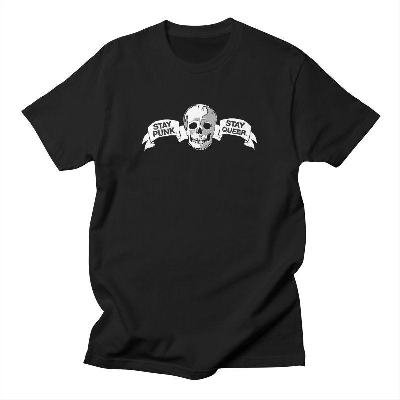 Stay Punk.  Stay Queer. Men's T-Shirt by Punk Rock Girls Like Us