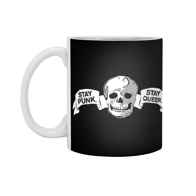 Stay Punk.  Stay Queer. Accessories Standard Mug by Punk Rock Girls Like Us