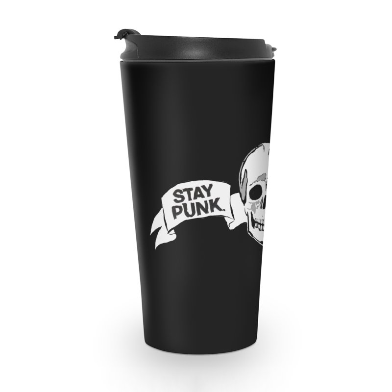 Stay Punk.  Stay Queer. Accessories Travel Mug by Punk Rock Girls Like Us