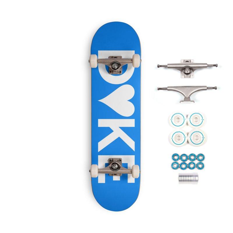 D♥KE. Accessories Complete - Basic Skateboard by Punk Rock Girls Like Us