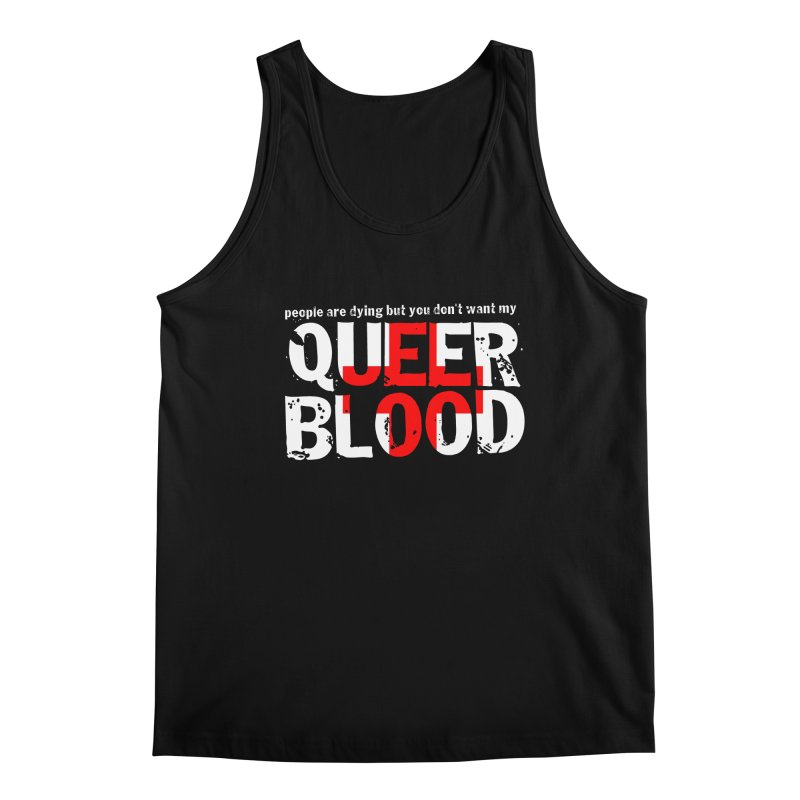 QUEER BLOOD Men's Regular Tank by Punk Rock Girls Like Us