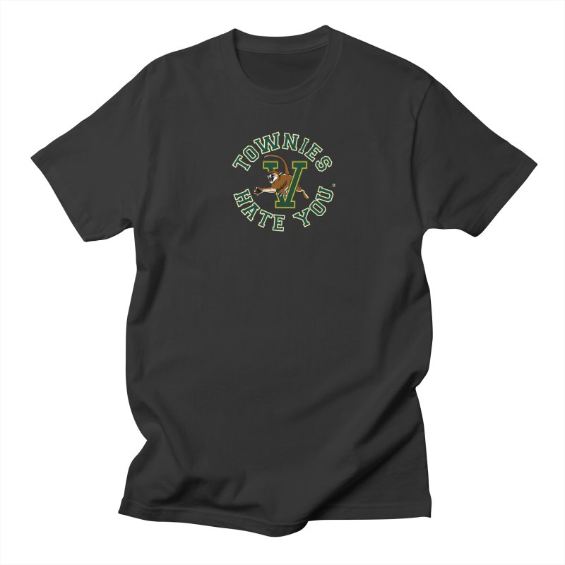 TOWNIES HATE YOU Men's Regular T-Shirt by Punk Rock Girls Like Us