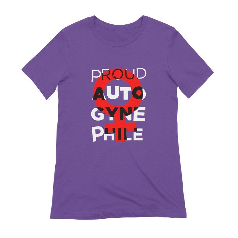Proud Autogynephile Women's Extra Soft T-Shirt by Punk Rock Girls Like Us