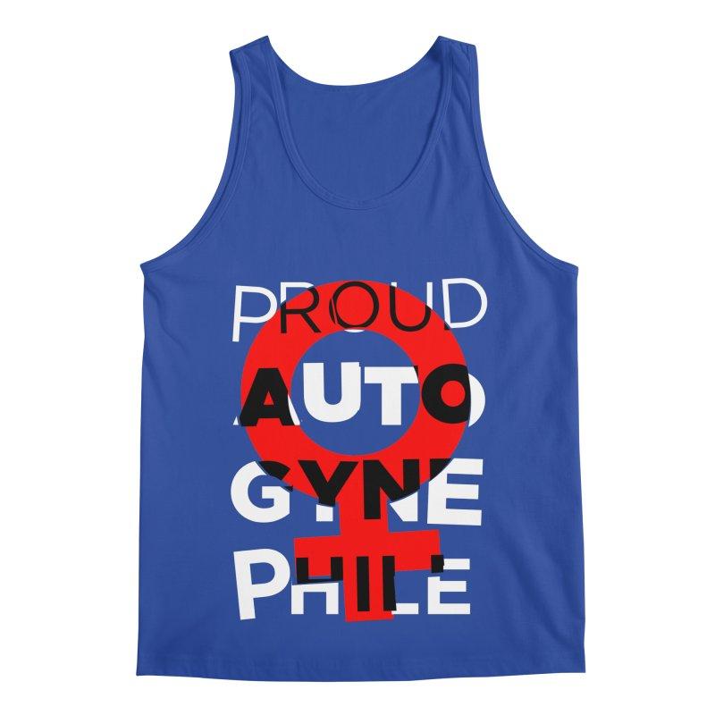 Proud Autogynephile Men's Regular Tank by Punk Rock Girls Like Us