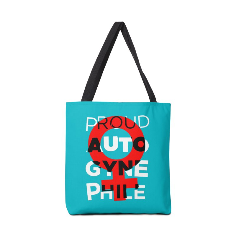 Proud Autogynephile Accessories Tote Bag Bag by Punk Rock Girls Like Us