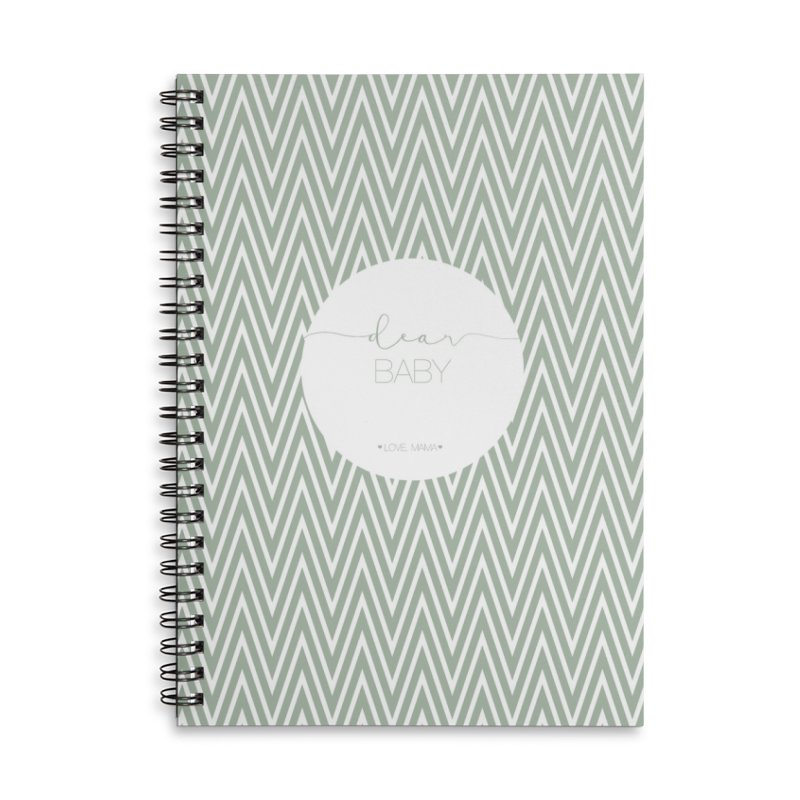 Dear Baby Pregnancy Journal Accessories Notebook by Love and Marriage shop