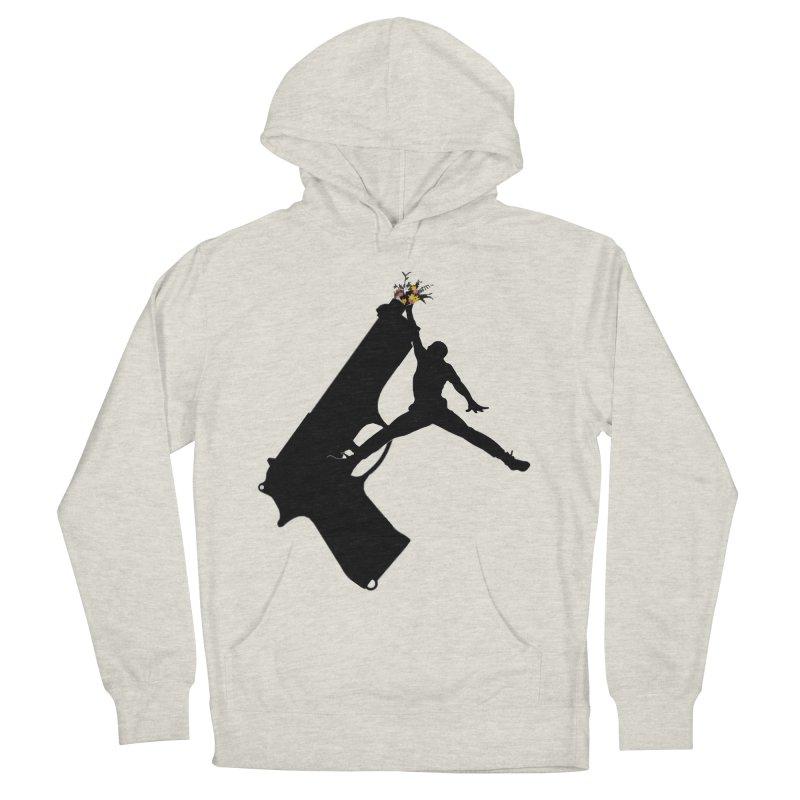 Err Jordan in Men's Pullover Hoody Heather Oatmeal by loveandnate's Artist Shop