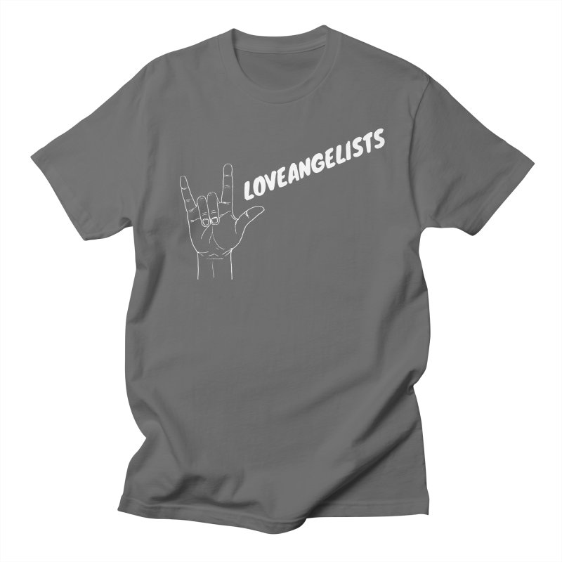 loveangelists White Men's T-Shirt by Loveangelists Swag