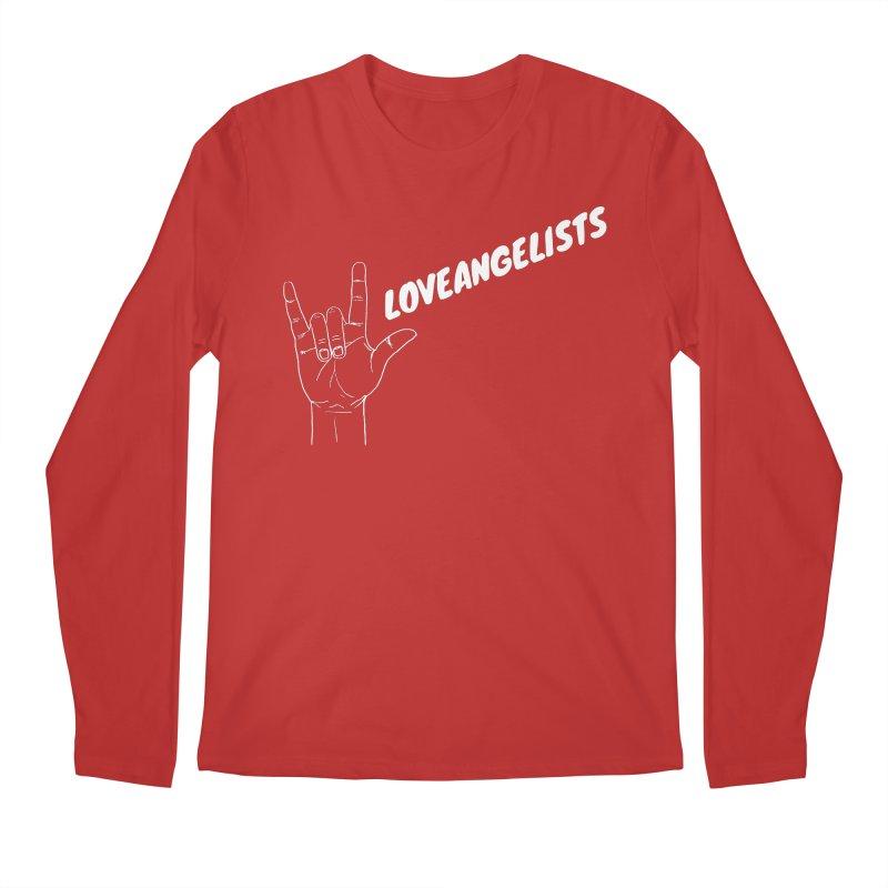 loveangelists White Men's Regular Longsleeve T-Shirt by Loveangelists Swag