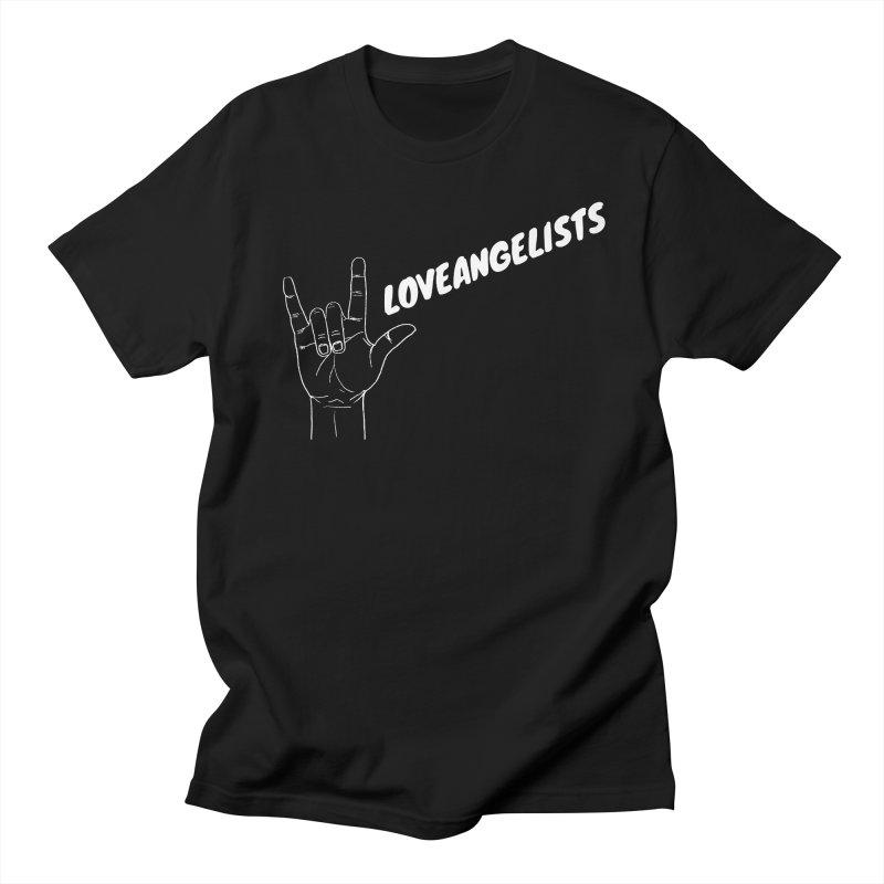 loveangelists White Men's Regular T-Shirt by Loveangelists Swag
