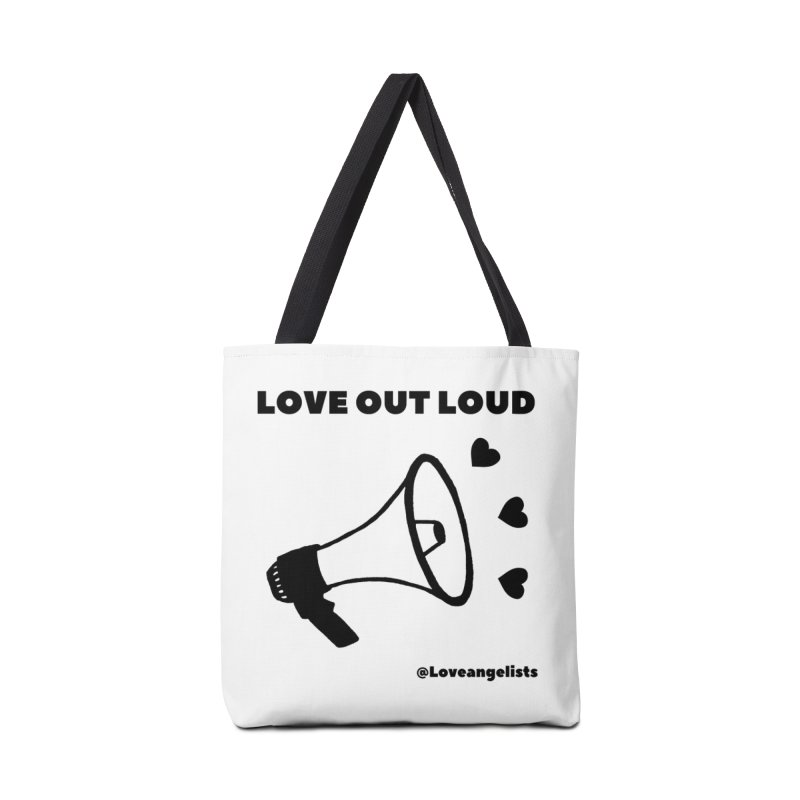 Love Out Loud Accessories Tote Bag Bag by Loveangelists Swag