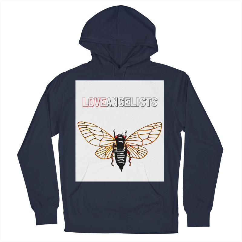 Cicada Women's French Terry Pullover Hoody by Loveangelists Swag