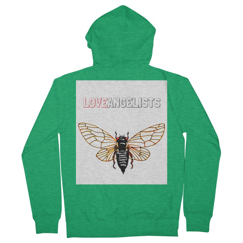 Cicada Women's French Terry Zip-Up Hoody by Loveangelists Swag