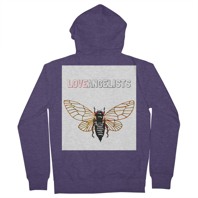 Cicada Men's French Terry Zip-Up Hoody by Loveangelists Swag