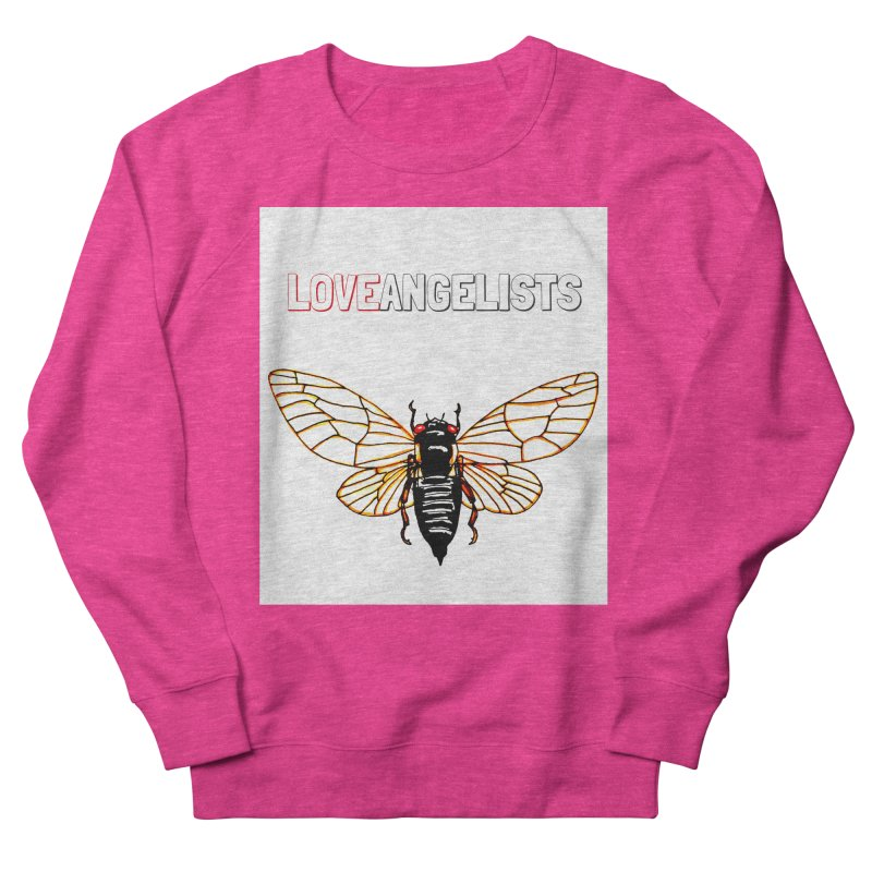 Cicada Women's French Terry Sweatshirt by Loveangelists Swag