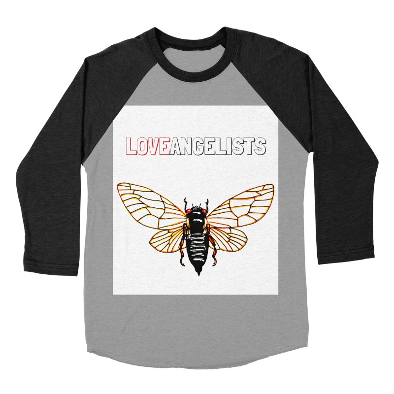 Cicada Women's Baseball Triblend Longsleeve T-Shirt by Loveangelists Swag