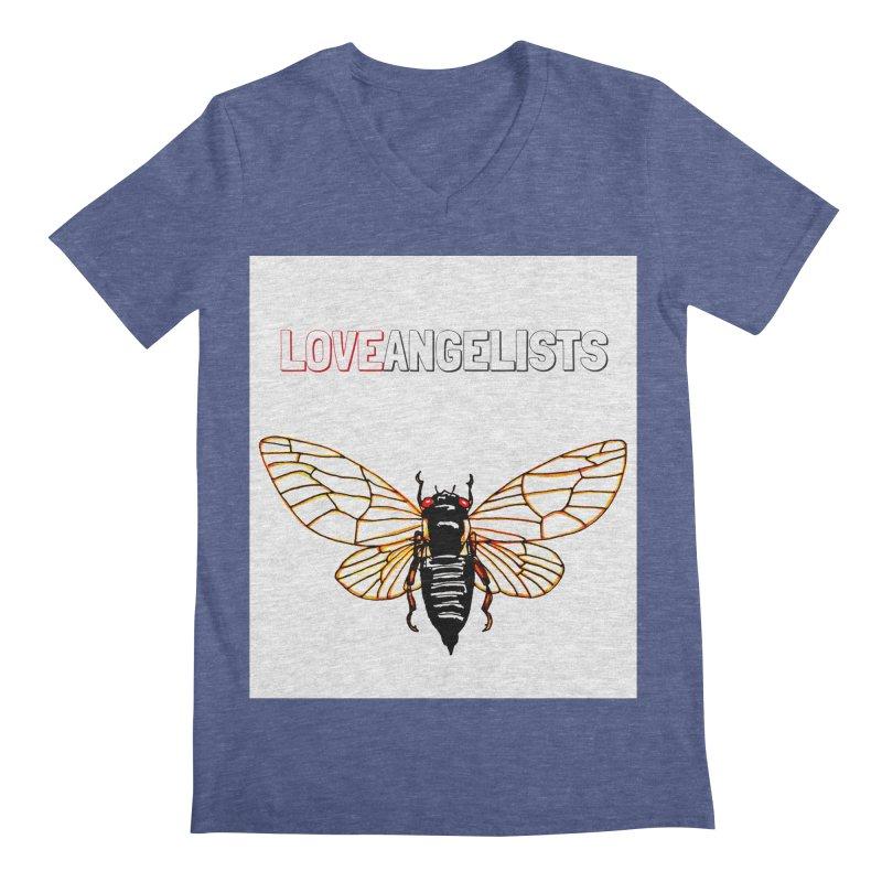 Cicada Men's Regular V-Neck by Loveangelists Swag