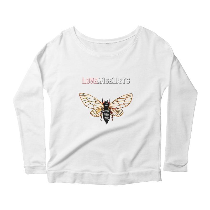 Cicada Women's Scoop Neck Longsleeve T-Shirt by Loveangelists Swag