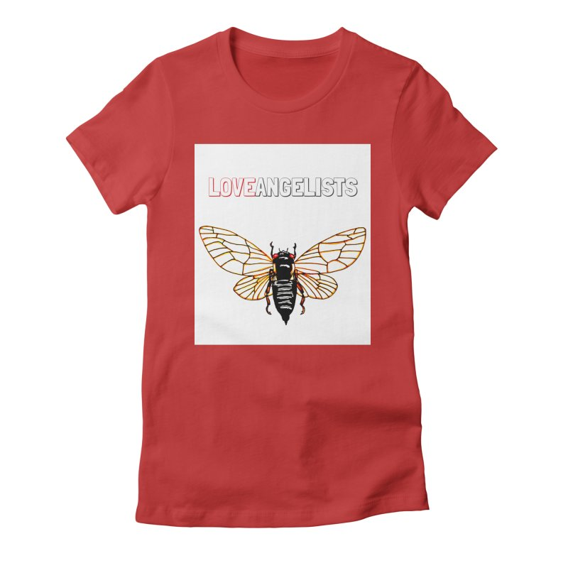 Cicada Women's Fitted T-Shirt by Loveangelists Swag