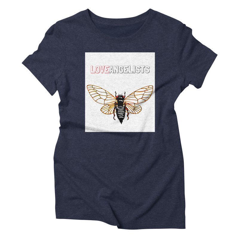 Cicada Women's Triblend T-Shirt by Loveangelists Swag