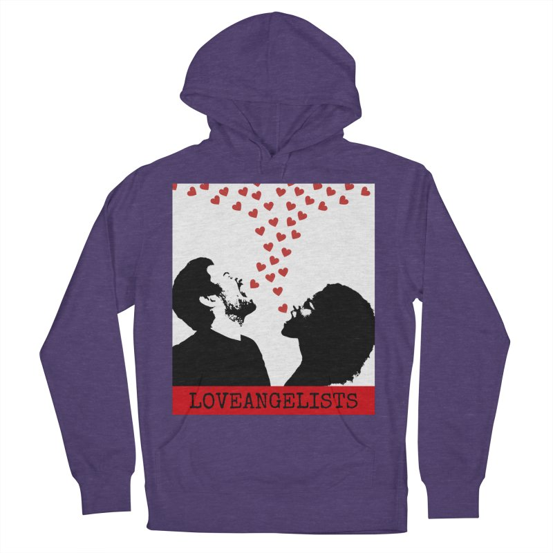 Love Shout Women's French Terry Pullover Hoody by Loveangelists Swag