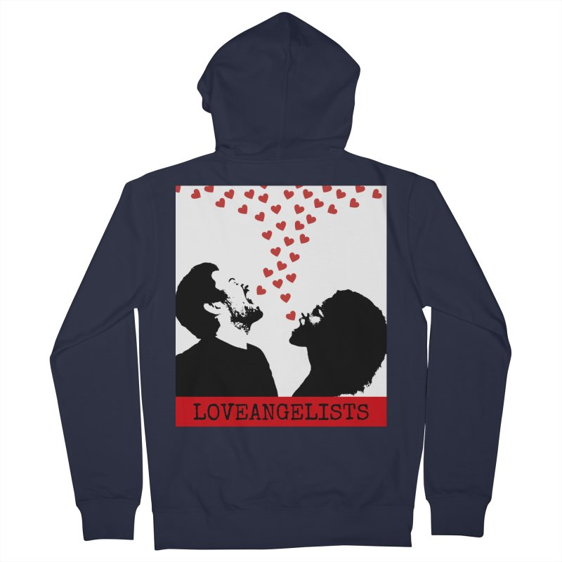 Love Shout Women's French Terry Zip-Up Hoody by Loveangelists Swag