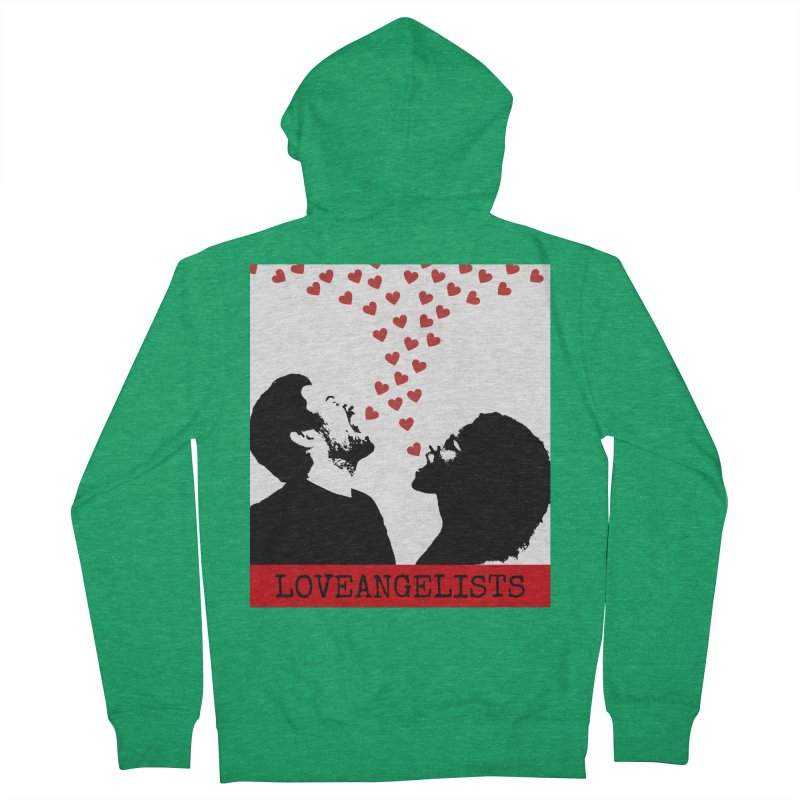 Love Shout Men's Zip-Up Hoody by Loveangelists Swag