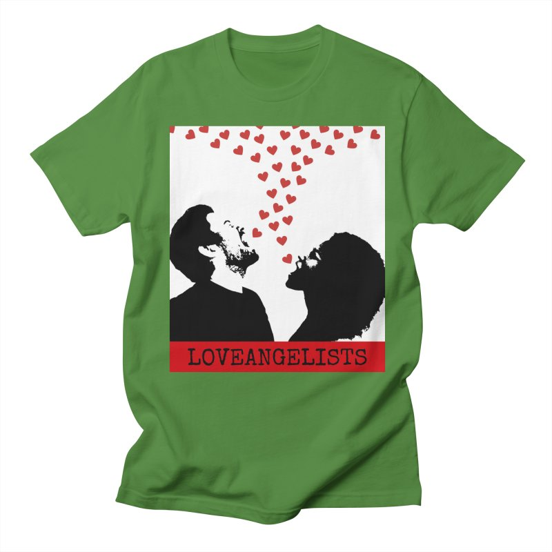Love Shout Men's Regular T-Shirt by Loveangelists Swag
