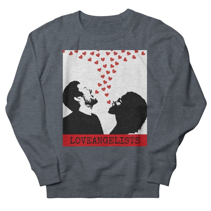 Love Shout Women's French Terry Sweatshirt by Loveangelists Swag
