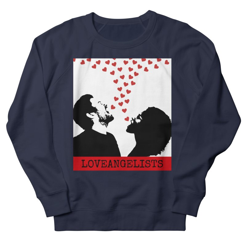 Love Shout Men's French Terry Sweatshirt by Loveangelists Swag