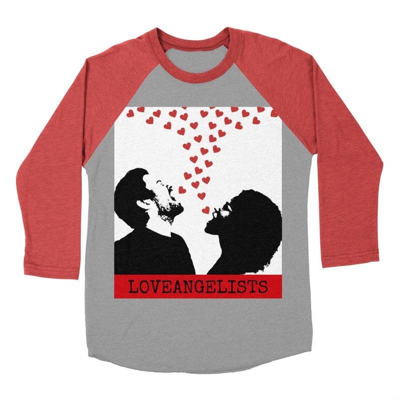 Love Shout Women's Baseball Triblend Longsleeve T-Shirt by Loveangelists Swag