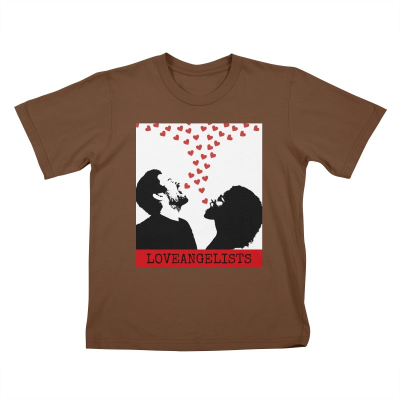 Love Shout Kids T-Shirt by Loveangelists Swag